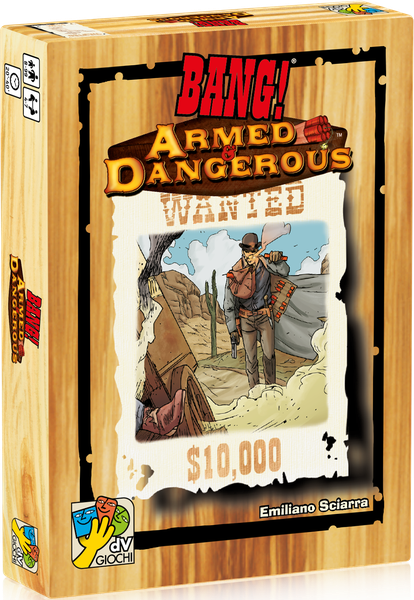 Box image of BANG! Armed & Dangerous